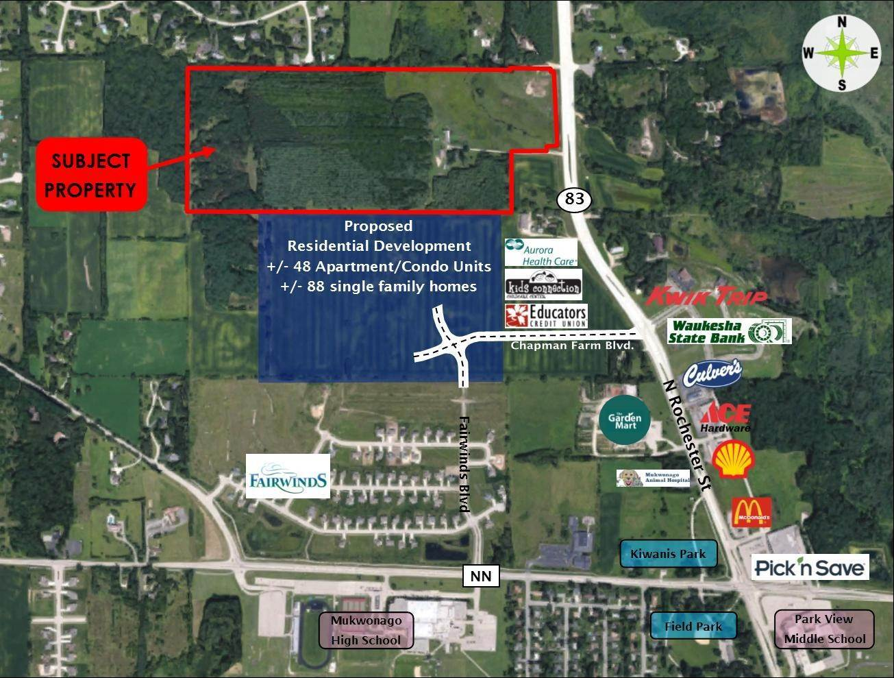 Land for Sale at Lt0 Hwy 83 Mukwonago, Wisconsin 53149 United States