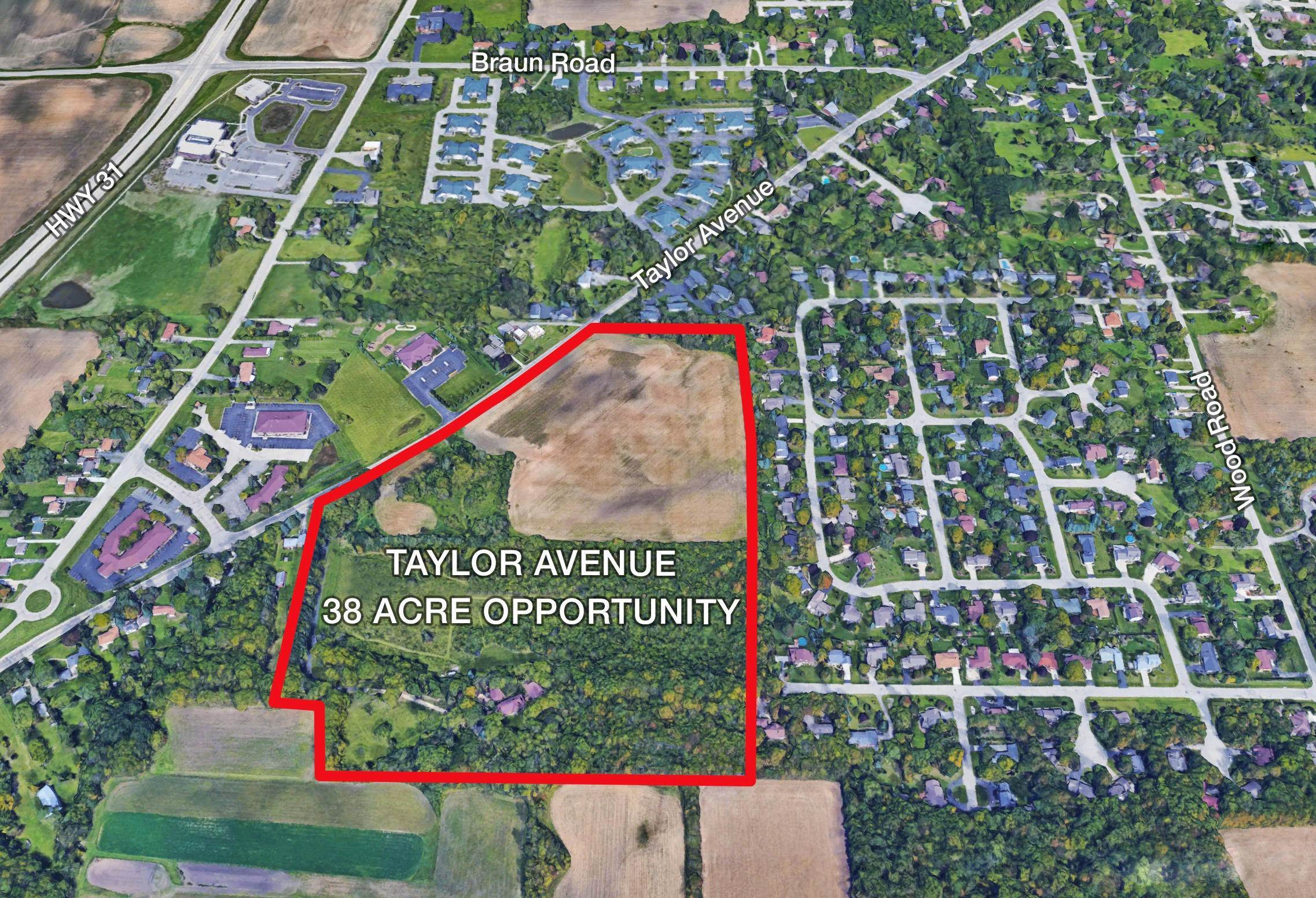 Land for Sale at 6147 Taylor Avenue Mount Pleasant, Wisconsin 53403 United States