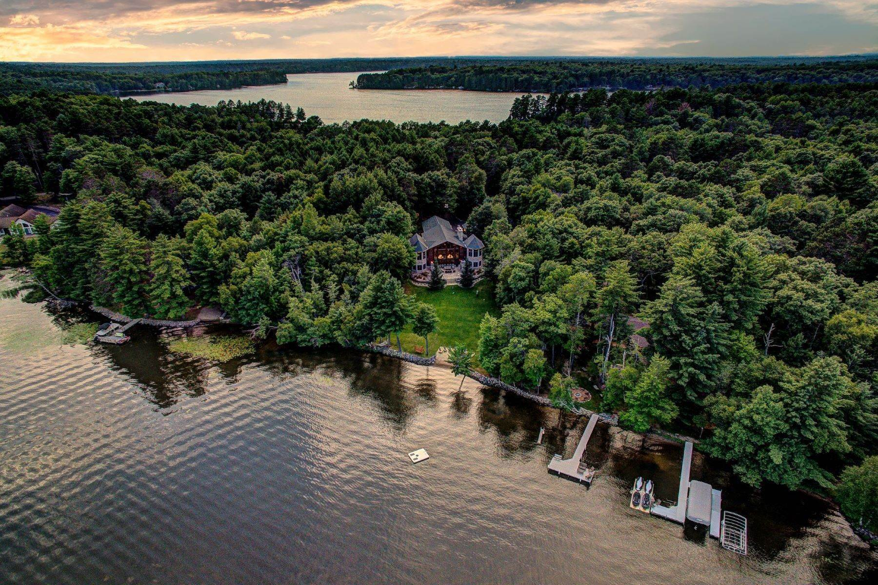 Single Family Homes for Sale at Cranberry Lake Lodge 1030 Circle Dr Eagle River, Wisconsin 54521 United States